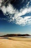 Spiaggia Goa della tartaruga Fotografia Stock