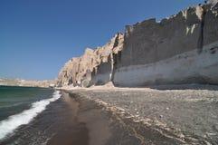 Spiaggia greca Fotografie Stock