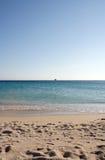 Spiaggia greca Immagine Stock