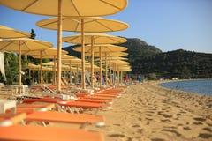 Spiaggia Grecia Sithonia Grecia Fotografie Stock Libere da Diritti