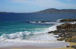 Spiaggia Harris di Horgabost Immagine Stock Libera da Diritti