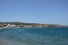 Spiaggia in Hersonissos Immagine Stock Libera da Diritti