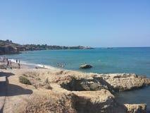 Spiaggia Hersonissos Immagine Stock