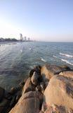 Spiaggia in Hua Hin Immagine Stock Libera da Diritti