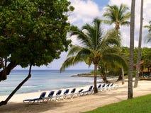 spiaggia i Caraibi Fotografia Stock Libera da Diritti