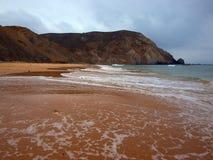Spiaggia I di paradiso del Algarve Fotografia Stock Libera da Diritti