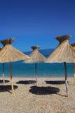 Spiaggia idillica immagini stock libere da diritti