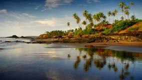 Spiaggia idillica Immagine Stock Libera da Diritti