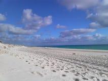 Spiaggia idillica Fotografia Stock