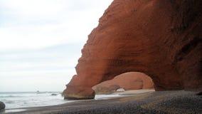 Spiaggia Ifni Marocco di Lghzira Immagini Stock