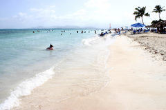Spiaggia II dell'isola del palomino Fotografia Stock Libera da Diritti