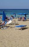 Spiaggia II di Agia Napa Fotografie Stock Libere da Diritti