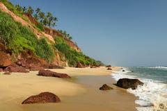 Spiaggia indiana Fotografie Stock