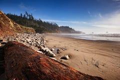 Spiaggia indiana nell'Oregon Immagine Stock Libera da Diritti