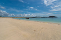 Spiaggia in Indonesia Fotografie Stock