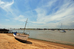 Spiaggia inglese Fotografie Stock
