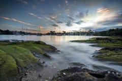 Spiaggia intorno a Sydney Fotografia Stock Libera da Diritti