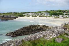 Spiaggia in Irlanda Immagine Stock Libera da Diritti
