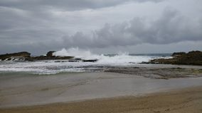 Spiaggia Isabela Puerto Rico di Pesquera immagine stock libera da diritti