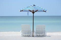 Spiaggia isolata Fotografia Stock