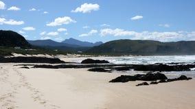 Spiaggia isolata, valle delle nature Fotografia Stock Libera da Diritti
