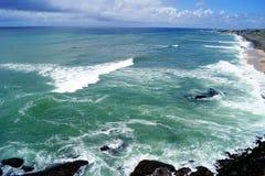 Spiaggia in kanyakumari immagine stock