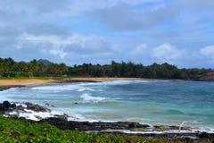 Spiaggia in Kauai Immagini Stock