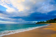 Spiaggia Kauai, Hawai dei tunnel fotografia stock libera da diritti