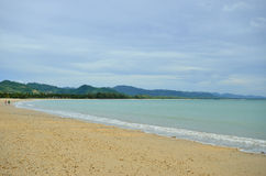 Spiaggia in Khao Lak Fotografie Stock