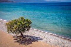 Spiaggia in Kissamos Fotografia Stock