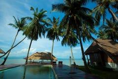 Spiaggia in Koh Phangan Thailand immagine stock