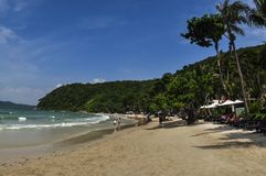 Spiaggia a KOH Samet Immagine Stock
