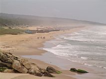 Spiaggia, Kovalam, India Fotografia Stock
