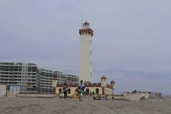 Spiaggia a La Serena Chile immagine stock