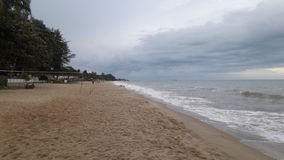 Spiaggia Lammapim Rayong fotografia stock