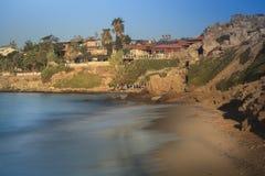 Spiaggia laterale Fotografia Stock Libera da Diritti