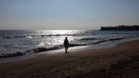 Spiaggia laterale Fotografie Stock Libere da Diritti