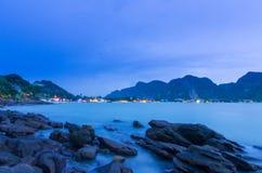 Spiaggia leggera Fotografia Stock Libera da Diritti