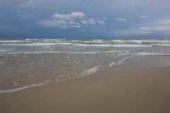 Spiaggia liscia Fotografia Stock Libera da Diritti
