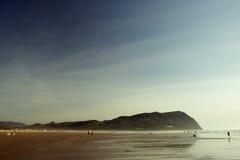 Spiaggia, litorale dell'Oregon Fotografie Stock