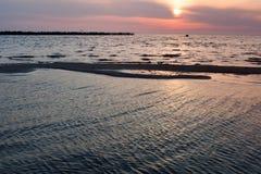 Spiaggia lituana Immagine Stock