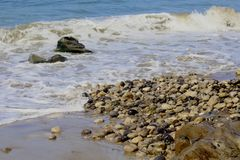 Spiaggia Lompoc California di Jalama Fotografie Stock