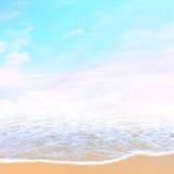 Spiaggia magica fotografia stock libera da diritti