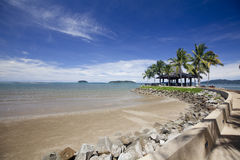 Spiaggia malese Fotografie Stock