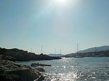 Spiaggia in Mallorca Fotografie Stock Libere da Diritti