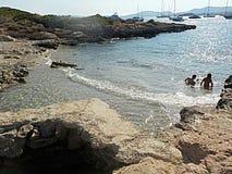 Spiaggia in Mallorca Fotografie Stock