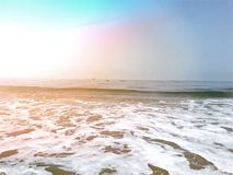 Spiaggia a Mangalore, il Karnataka, India Immagine Stock