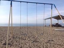 Spiaggia Marblehead di Deveraux Fotografia Stock