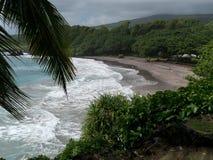 Spiaggia in Maui Hawai Fotografia Stock
