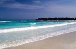 Spiaggia Mayan Fotografia Stock